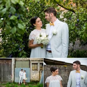 MÉLISSA & NICOLAS  Mariage champêtre à Suisse