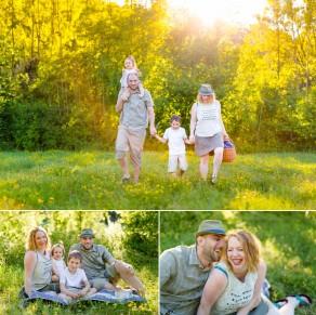 EMILIE, JEAN-MICHEL, ARTHUR & OCÉANE  Séance Famille nature et colorée à Messein